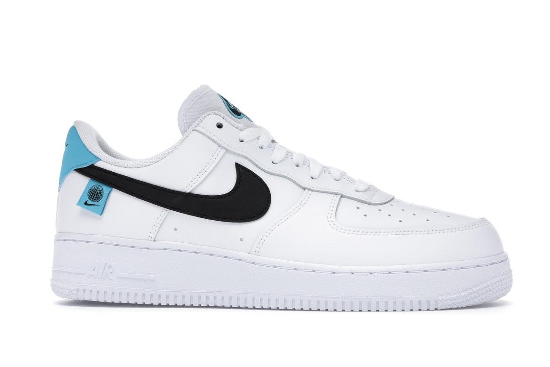 Nike Air Force 1 Low Worldwide White Blue Fury Black