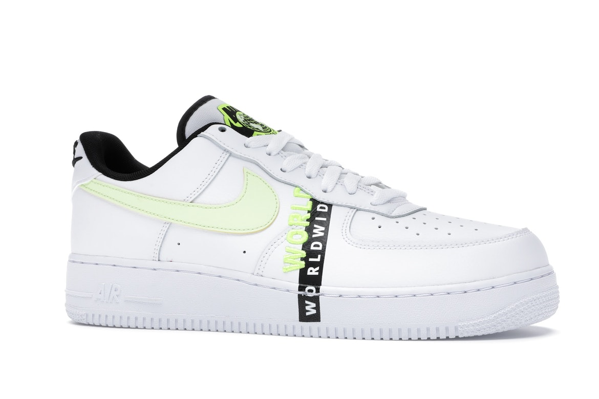 Nike Air Force 1 Low Worldwide White Volt