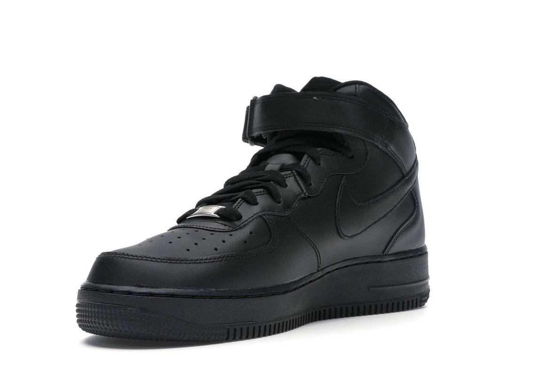 Nike Air Force 1 Mid Black (2016) - 315123-001