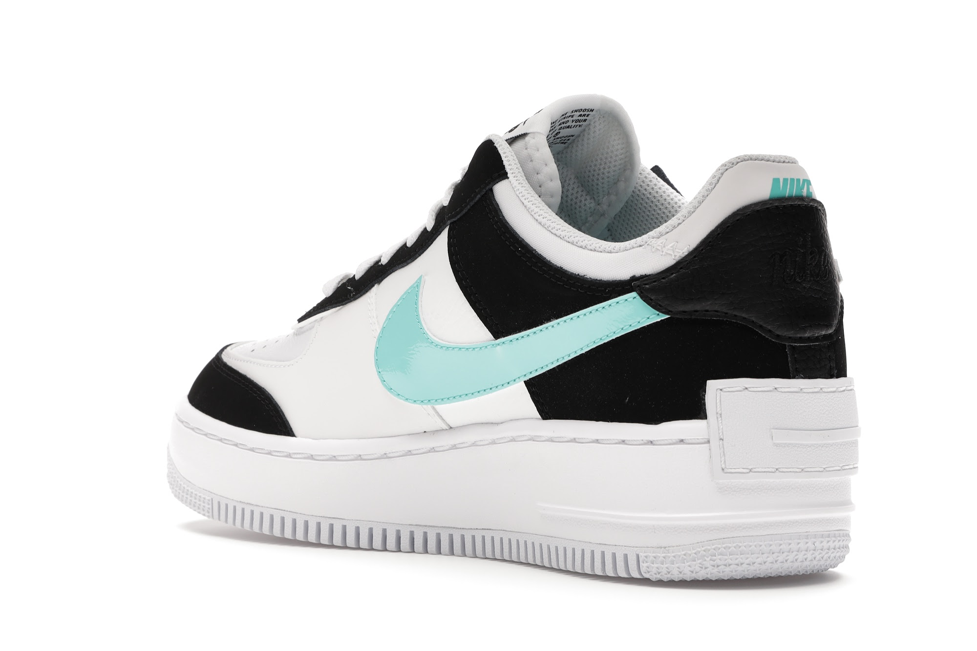 Nike Air Force 1 Shadow White Black Aurora (W) - CZ7929-100