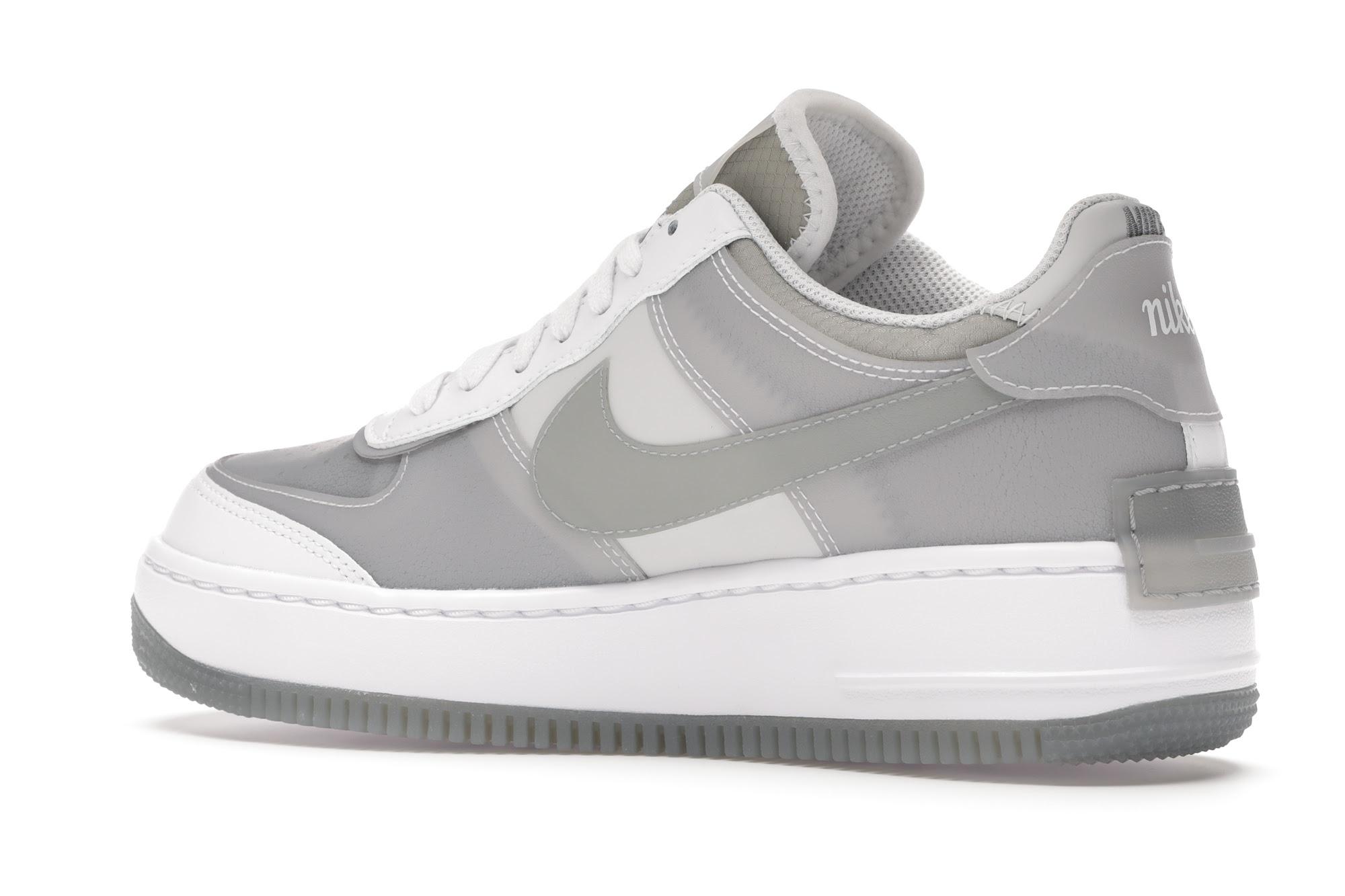 Nike Air Force 1 Shadow White Grey (W) - CK6561-100