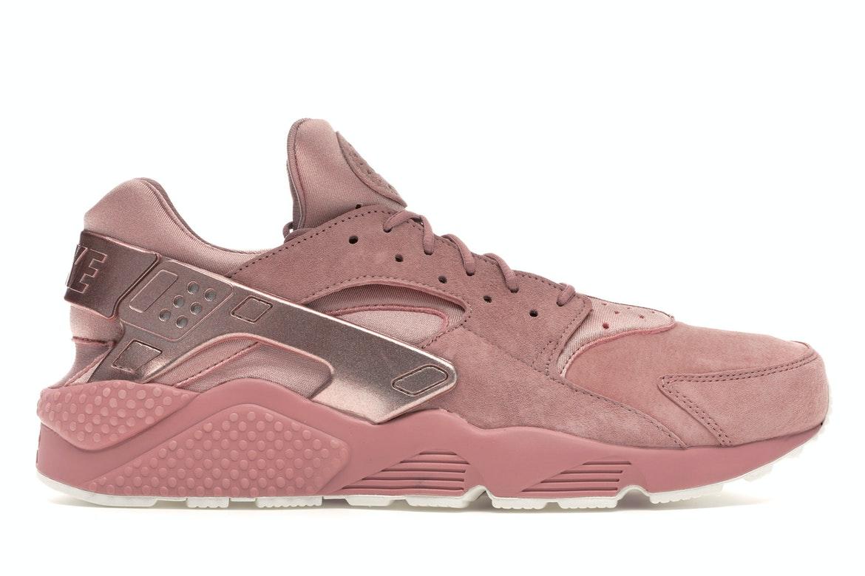 Nike Air Huarache Run Prm Rust Pink Metallic Red Bronze-Sail