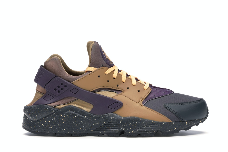 Nike Air Huarache Run Pro Purple Elemental Gold
