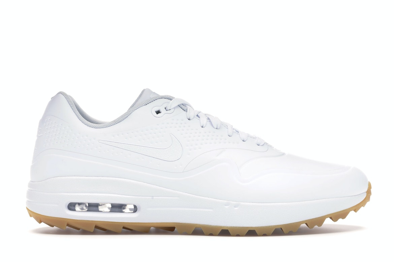 Nike Air Max 1 Golf White Gum White Swoosh