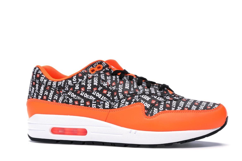 Nike Air Max 1 Just Do It Pack Black Orange