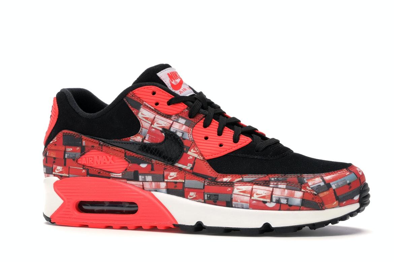 Nike Air Max 90 Atmos We Love Nike (Bright Crimson)