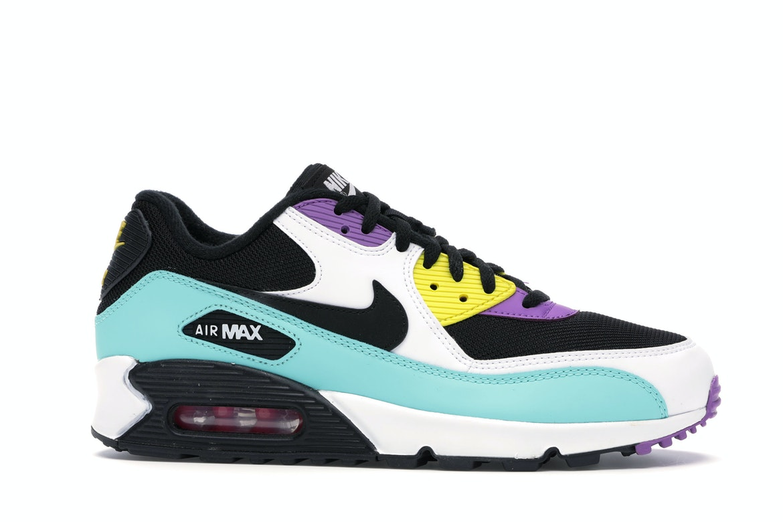 Nike Air Max 90 Black Bright Violet White