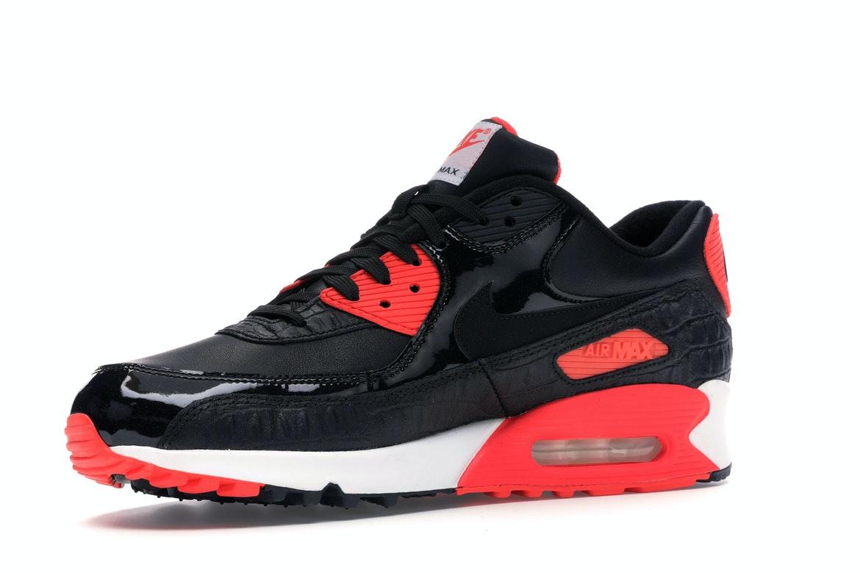 Nike Air Max 90 Black Croc Infrared