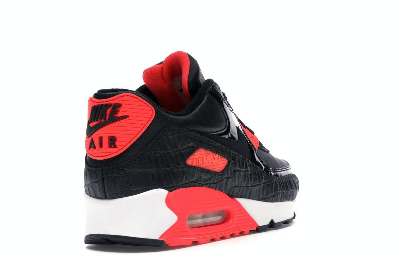 Nike Air Max 90 Black Croc Infrared - 725235-006