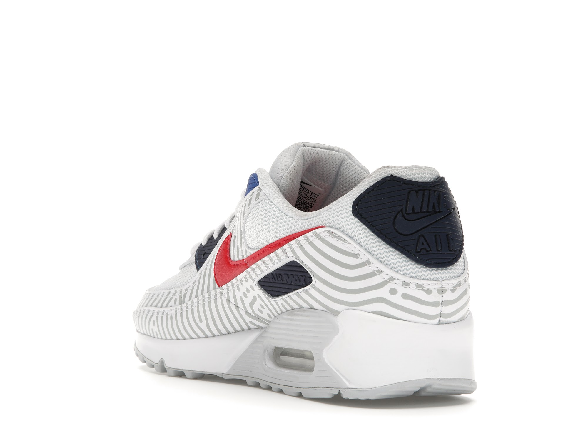 Nike Air Max 90 Euro Tour (2020) - CW7574-100
