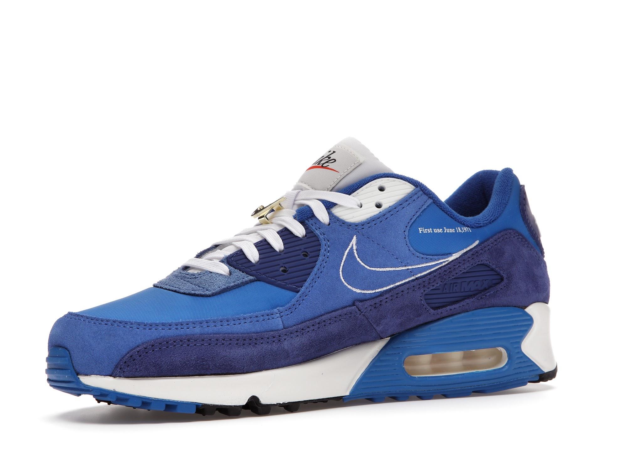 Nike Air Max 90 SE First Use Signal Blue