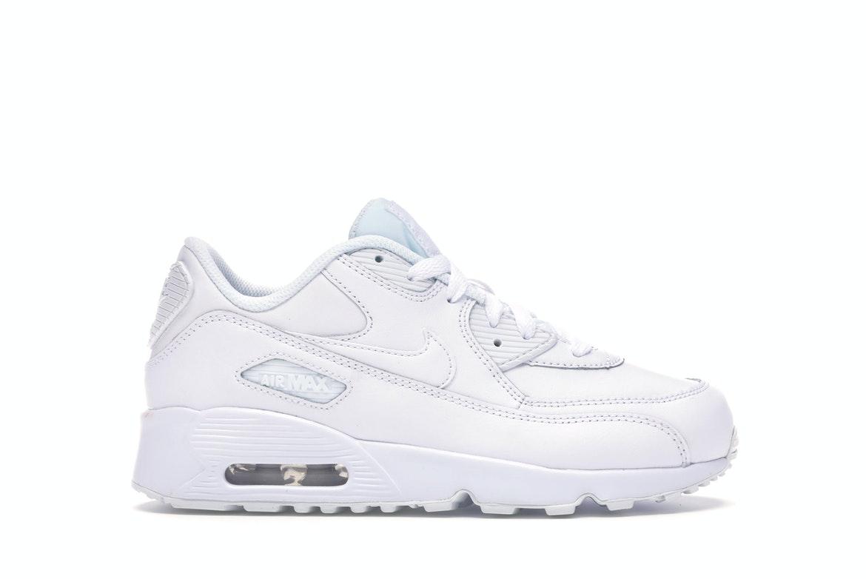 Nike Air Max 90 LTR White (PS)