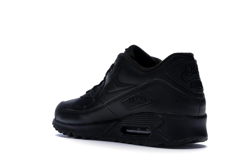 Nike Air Max 90 Leather Black - 302519-001