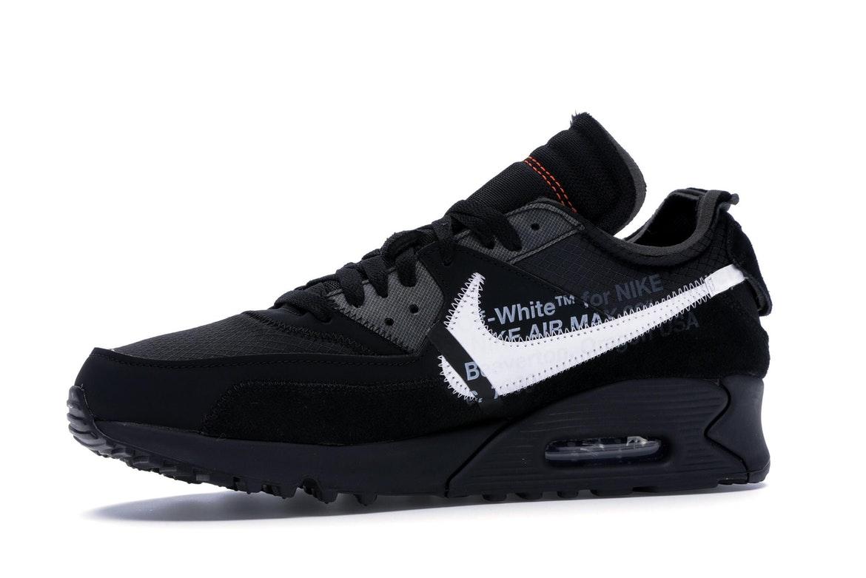 Nike Air Max 90 OFF-WHITE Black - AA7293-001