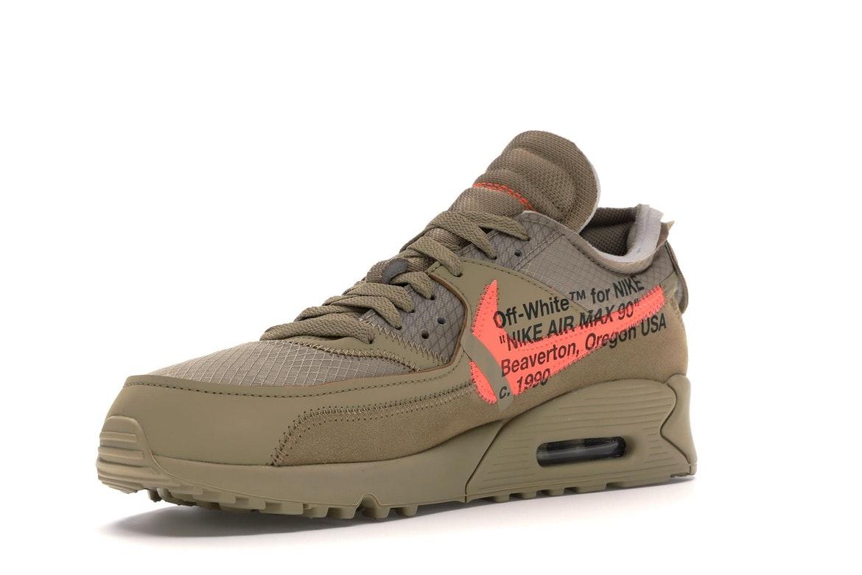 Nike Air Max 90 OFF-WHITE Desert Ore - AA7293-200