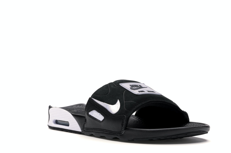 Nike Air Max 90 Slide Black White - BQ4635-002