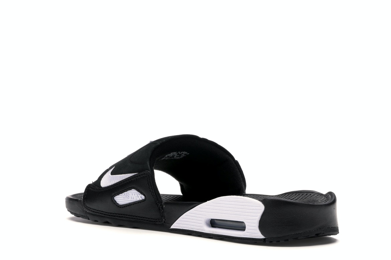 Nike Air Max 90 Slide Black White