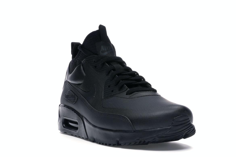 Nike Air Max 90 Ultra Mid Winter Black - 924458-004