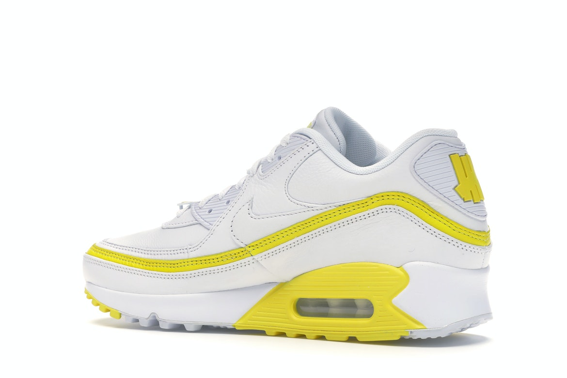 Nike Air Max 90 Undefeated White Optic Yellow - CJ7197 101