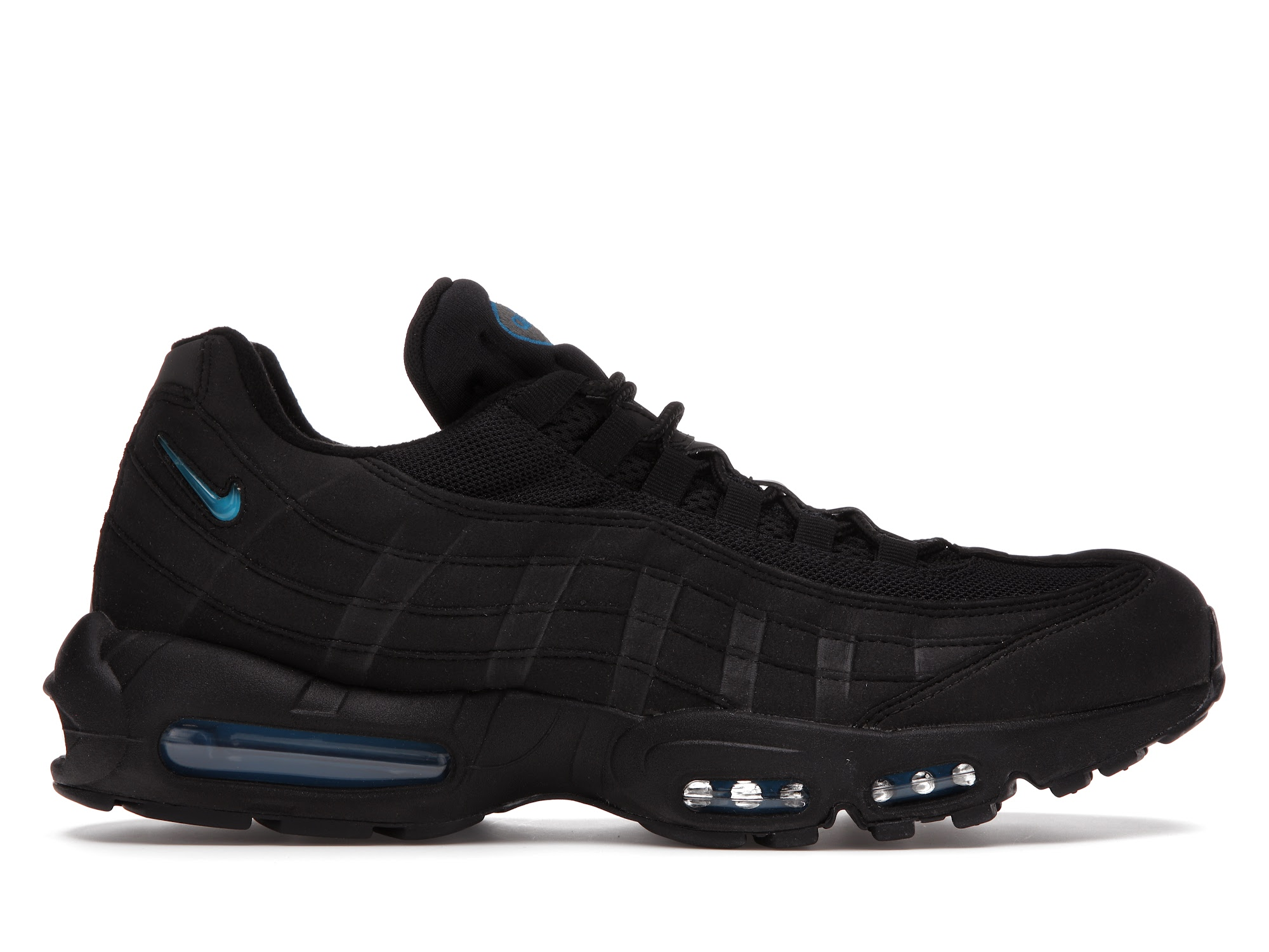 Nike Air Max 95 Black Imperial Blue (atmos Exclusive)