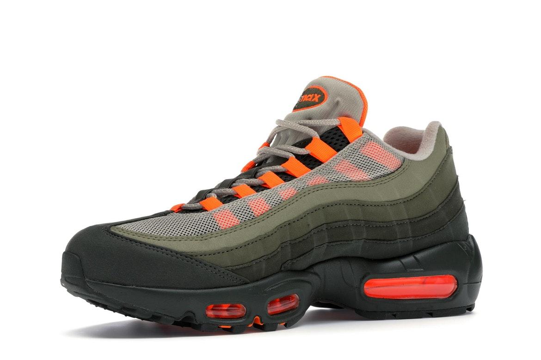 Nike Air Max 95 OG Neutral Olive Total Orange - AT2865-200