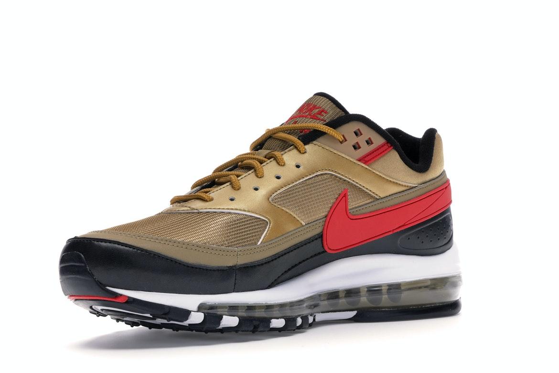 Nike Air Max 97 BW Metallic Gold University Red Black - AO2406-700