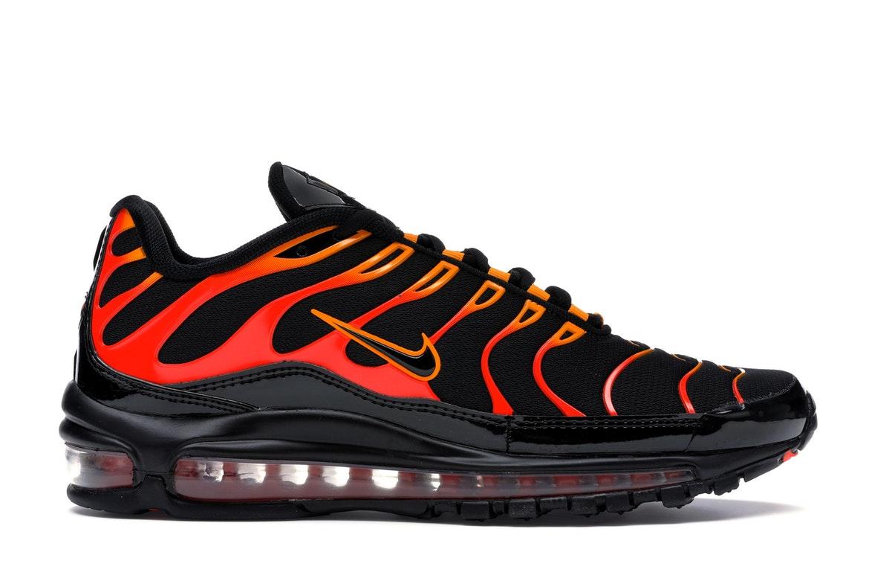 Nike Air Max 97 Plus Black Shock Orange