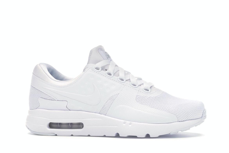 Nike Air Max Zero Essential White/White-Wolf Grey - 876070-100