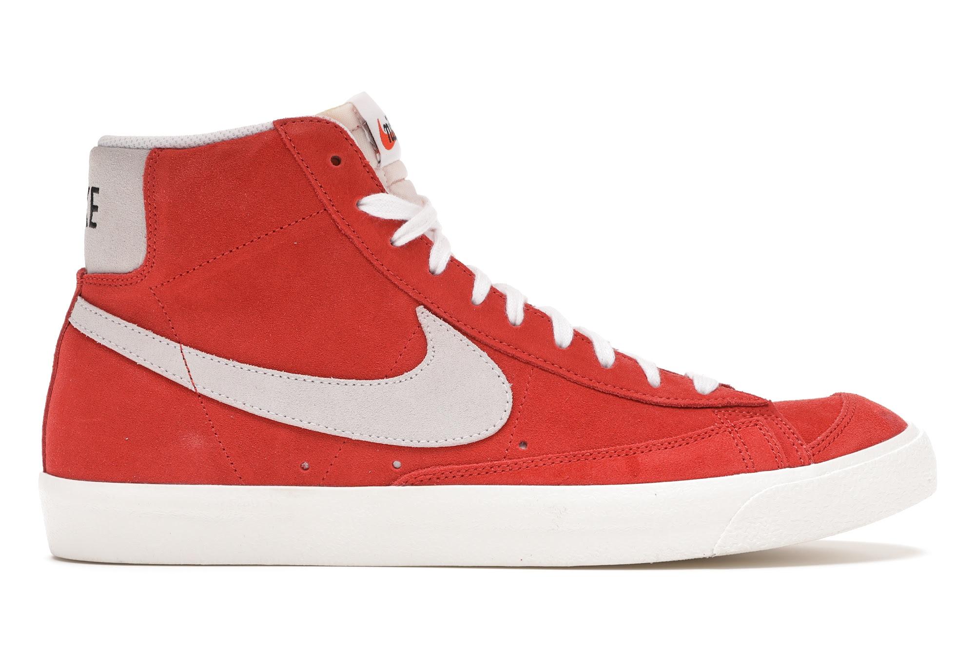 Nike Blazer Mid '77 Suede Habanero Red - CZ1088-600
