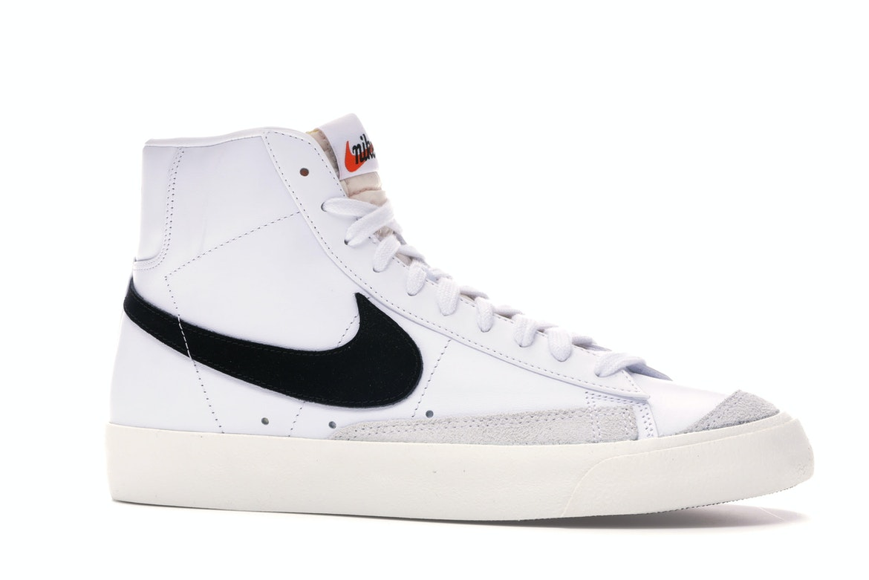 Nike Blazer Mid 77 Vintage White Black - BQ6806-100
