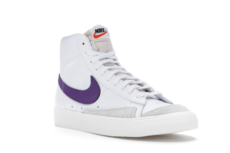 Nike Blazer Mid 77 Vintage White Voltage Purple - BQ6806-105