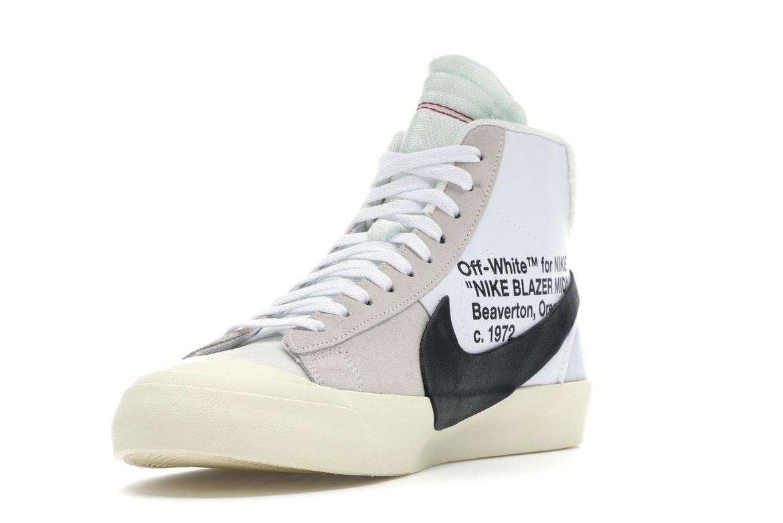 Nike Blazer Mid Off-White - AA3832-100