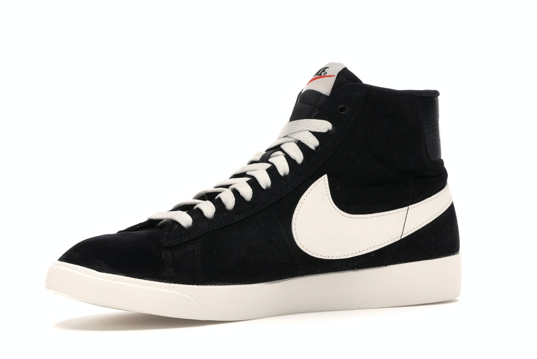 Nike Blazer Mid Vintage Suede Black (W)
