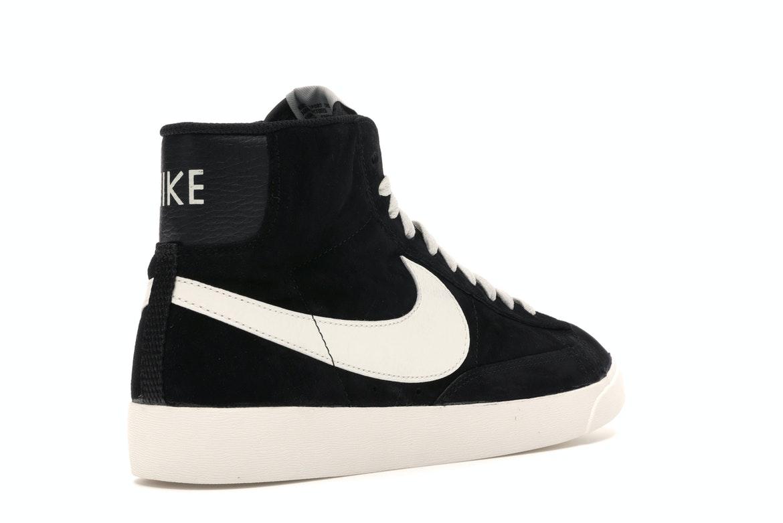Nike Blazer Mid Vintage Suede Black (W) - AV9376-001