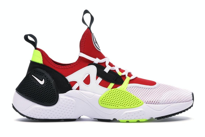 Nike Huarache Edge Txt White University Red Volt Black