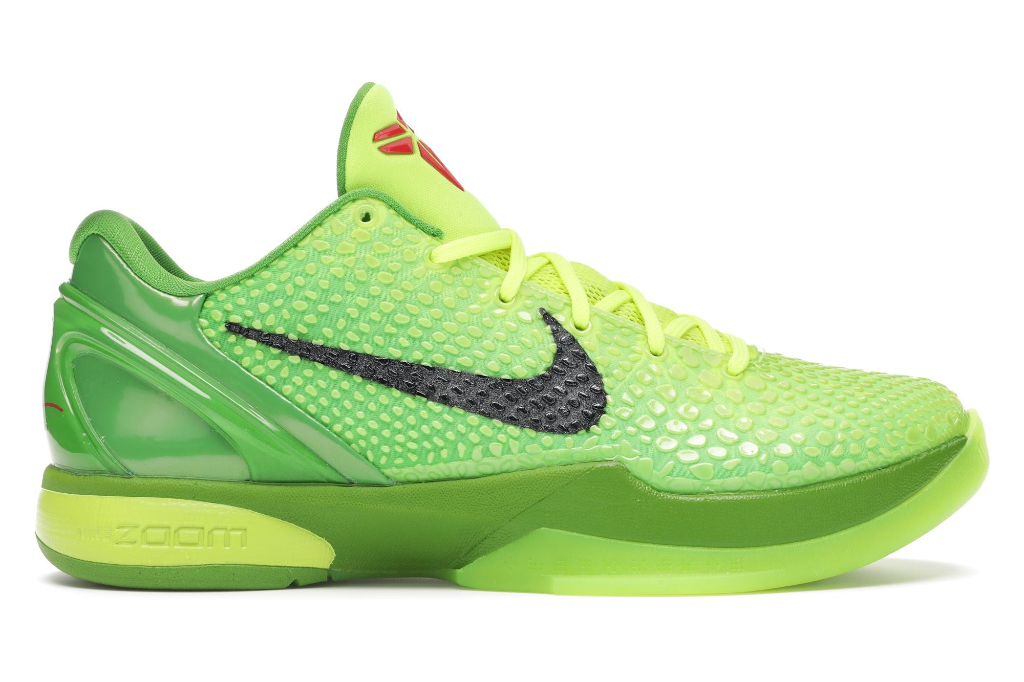 Nike Kobe 6 Protro Grinch (2020)