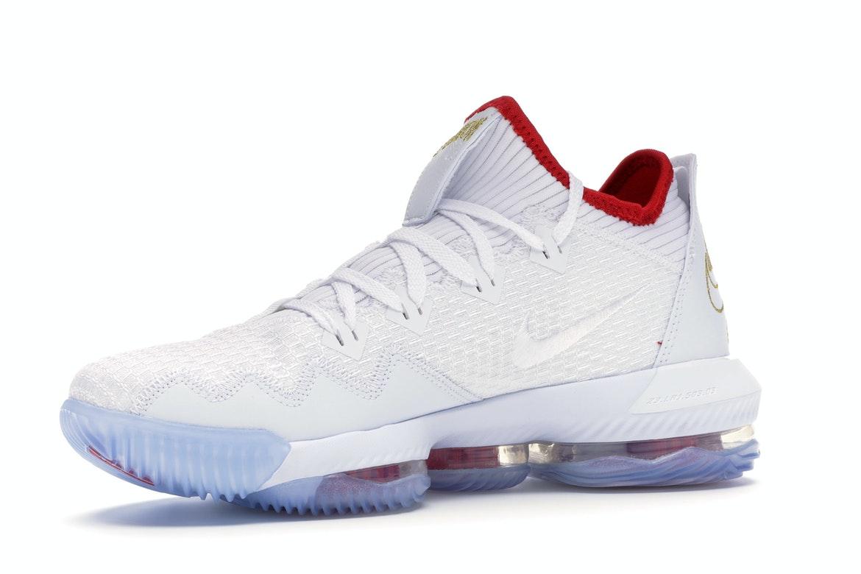 Nike LeBron 16 Low Draft Day - CI2668-100