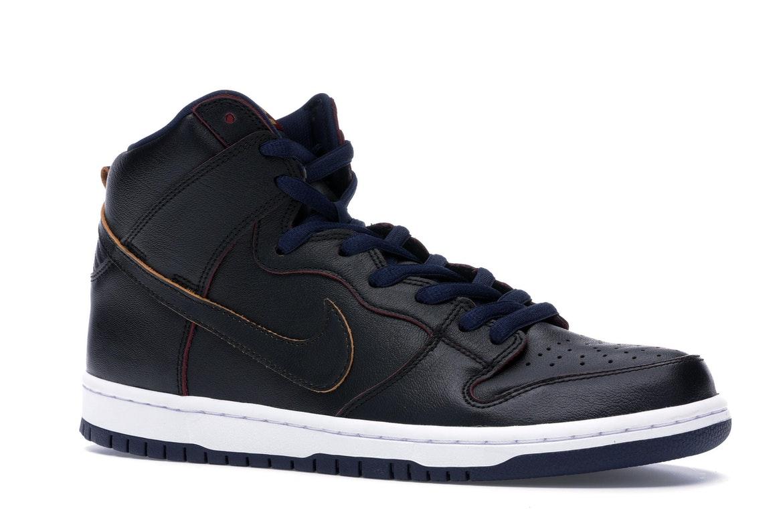 Nike SB Dunk High NBA Cavs - BQ6392-001