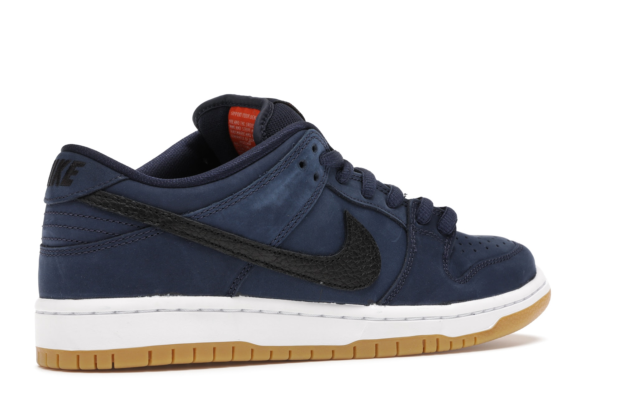 Nike SB Dunk Low Navy Black Gum