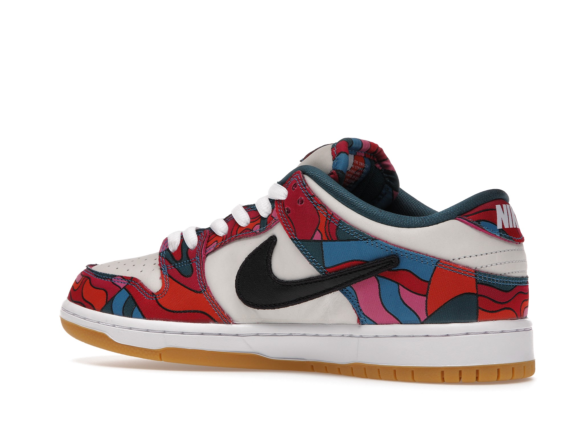 parra x nike sb dunk low resell