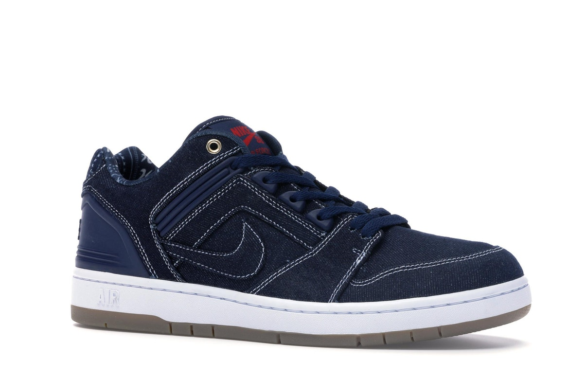 Nike SB Air Force 2 Low Rivals Pack (West) - AO0298-441