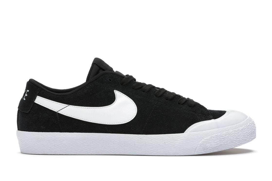 Nike Sb Zoom Blazer Low Xt Black White 864348 019