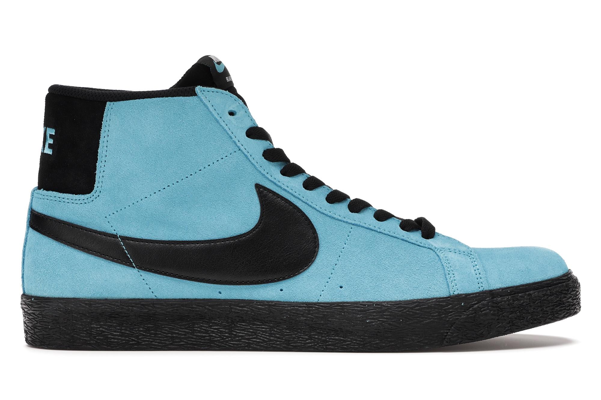 Nike SB Zoom Blazer Mid Baltic Blue - 864349-400
