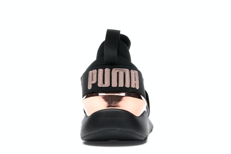 Puma Muse Metal Black Rose Gold (W) - 367047-01
