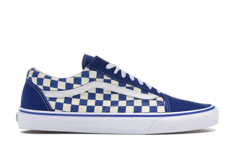 Vans Old Skool Blue Checkerboard