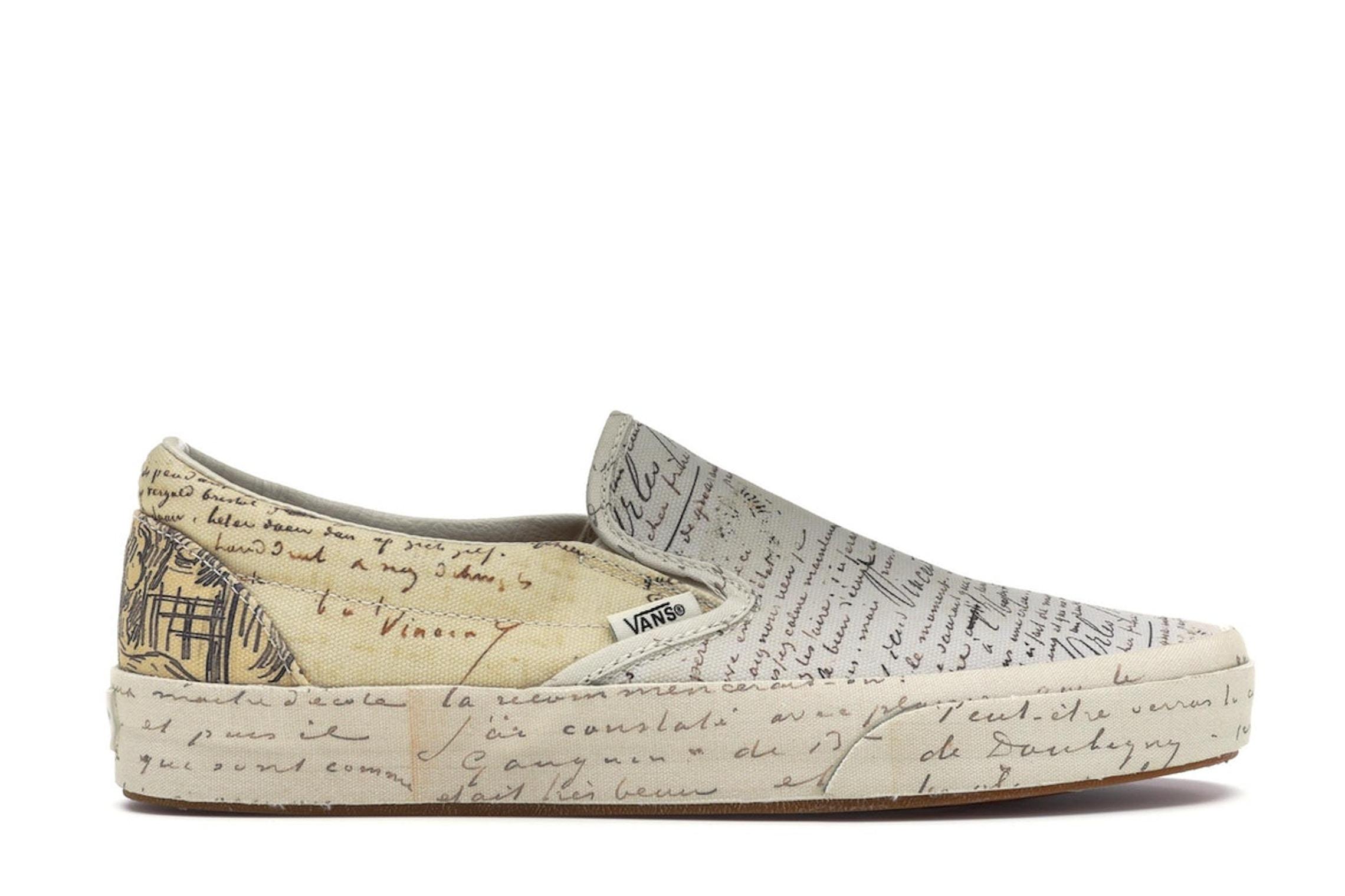 Vans Slip On Van Gogh Letters W Va38f7u7t