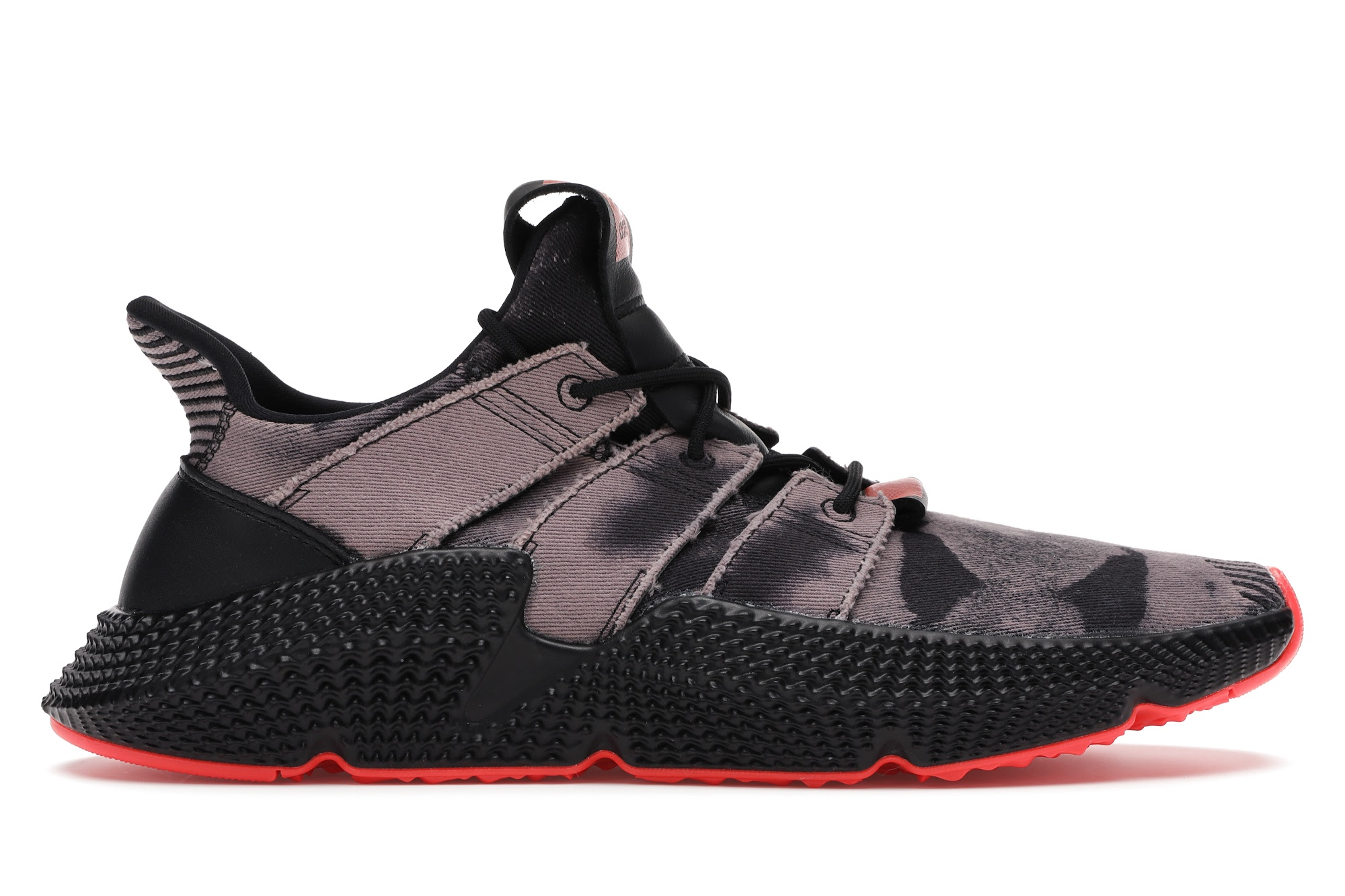 adidas Prophere Bleached Black Solar Red