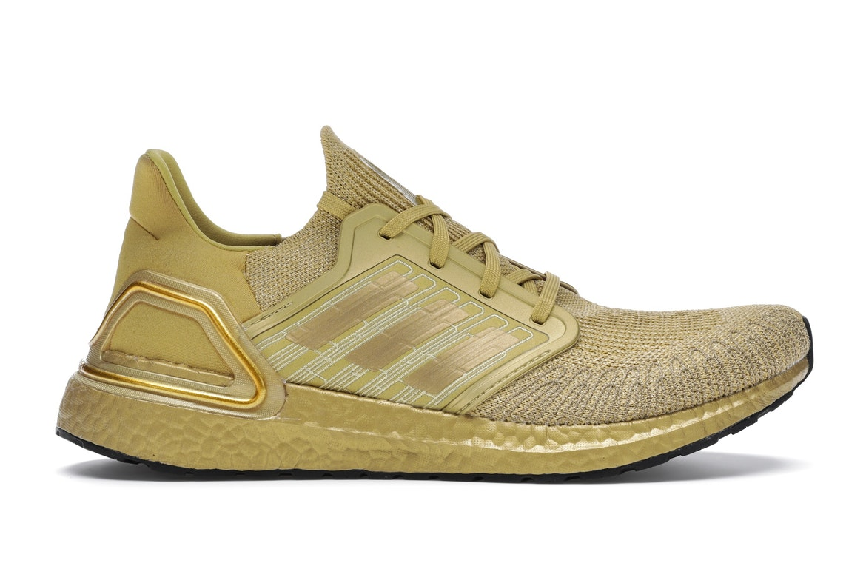 adidas Ultra Boost 20 Gold Metallic - EG1343
