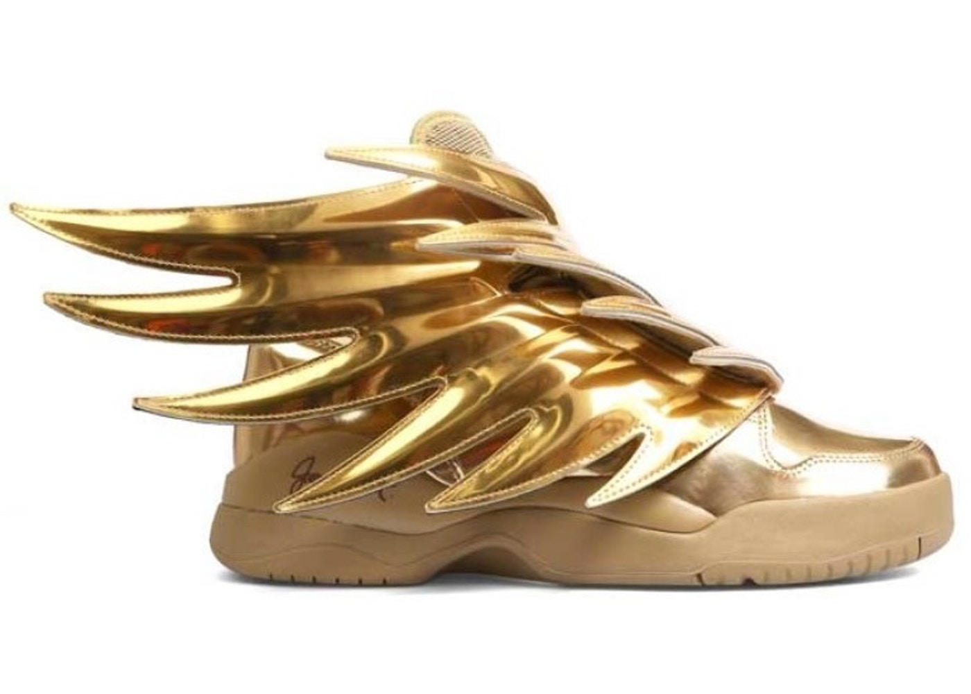 Adidas Js Wings Solid Gold B35651