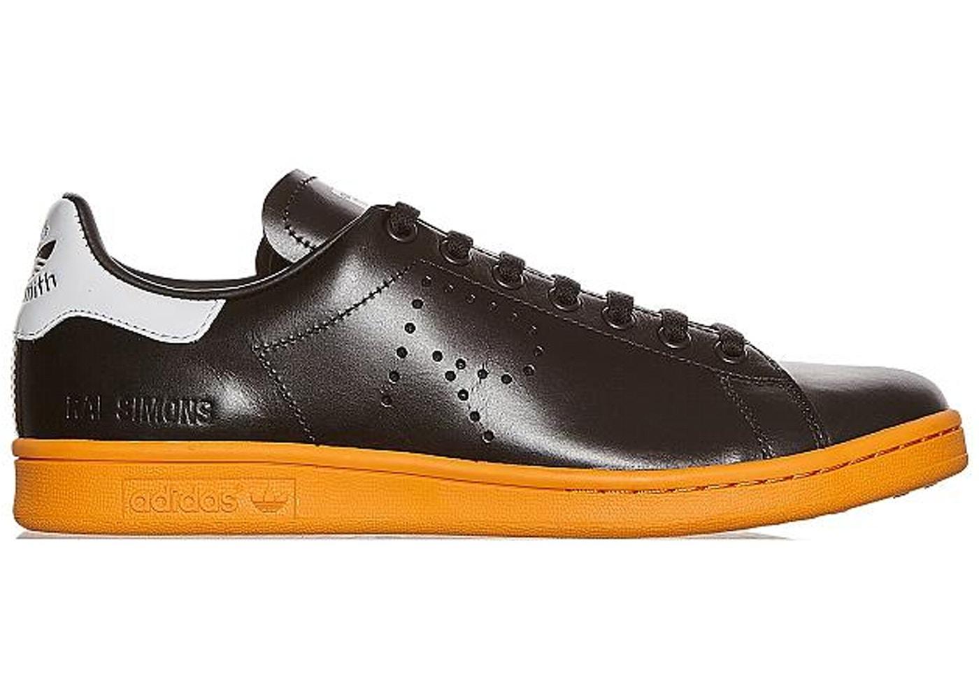 adidas Stan Smith Raf Simons Black Orange - BB2647